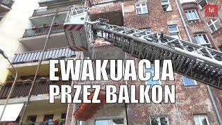#Wrocław: Nietypowa Akcja Straży Pożarnej