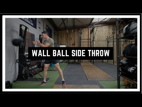 Wall Ball Side Throw