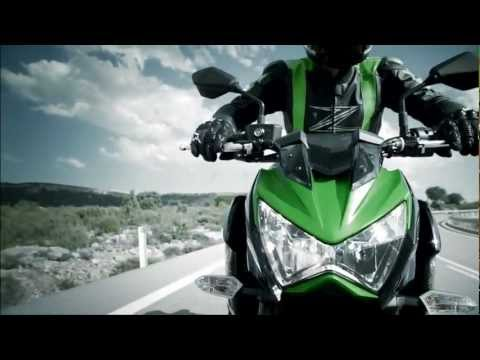 2013 Kawasaki Z800 official video