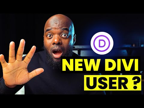 Divi Theme Tutorial | 5 Things you need to do before you start using Divi