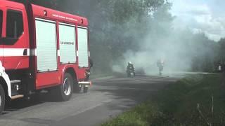 preview picture of video 'Požár vozidla u Otrokovic'