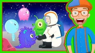 Story Time with Blippi | Magical Moon Rock - Video for Kids