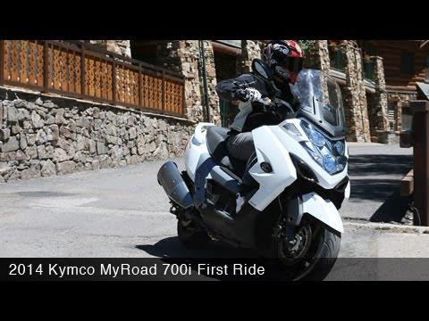 2014 Kymco MyRoad 700i First Ride – MotoUSA