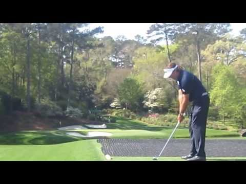 Phil Mickelson plays Amen Corner Tuesday at Augusta National The Masters 2013