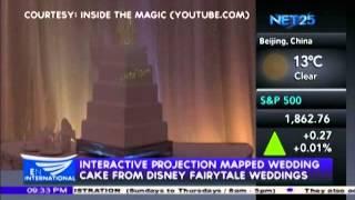 Disney Unveils Interactive Wedding Cakes