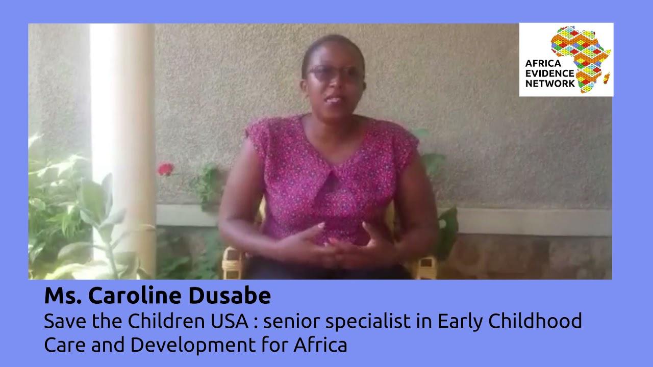 Africa Evidence Week 2021: Emerging EIDM leader_Caroline Dusabe: why I fell in love with EIDM
