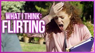 TRYING TO FLIRT WITH CRUSH!? - What I Really Do w/ Mahogany LOX & Carlos Esparza
