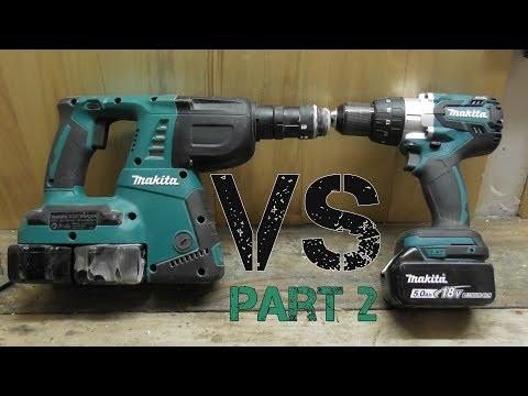 Hammer Drill vs Rotary Hammer Drill  PART 2