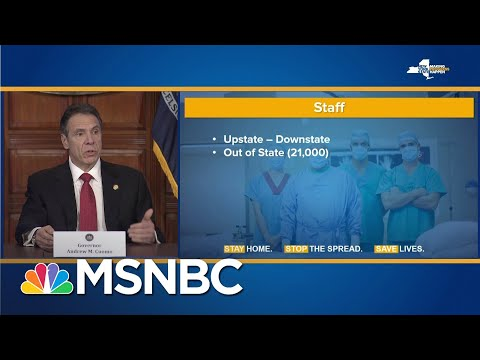 21,000 Out-Of-State Healthcare Workers Volunteer To Come To New York State | MSNBC
