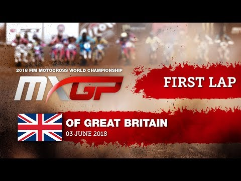 Conrad MEWSE First GoPro Lap MXGP of Great Britain 2018 #motocross