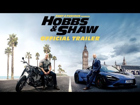 Trailer Fast & Furious Presents: Hobbs & Shaw