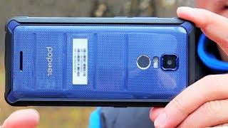 Смартфон POPTEL P10 ☎ самый тонкий корпус IP68 и лучший из недорогих китайцев!