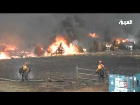 موجة حرائق مدمرة تستمر في كولورادو الأمريكية