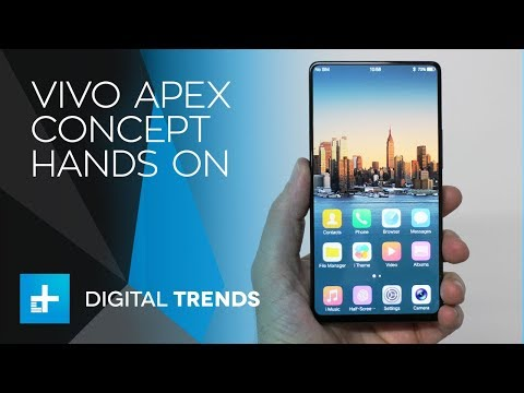 Vivo Apex Concept Smartphone - Hands On at MWC 2018