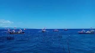 Perahu Hias dalam HUT RI KE 73 di Desa Wisata Popareng