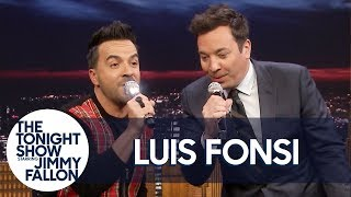 "Luis Fonsi and Jimmy Rewrite ""Despacito"" with Random Lyrics"