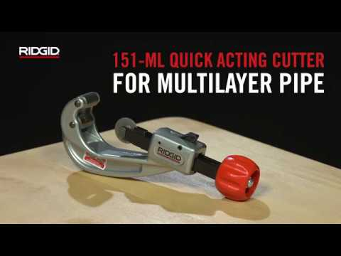 RIDGID 151-ML Quick Acting Tubing Cutter