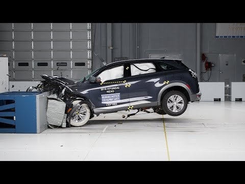Hydrogen powered vehicles are safe in accidents - Hyundai NEXO crash test