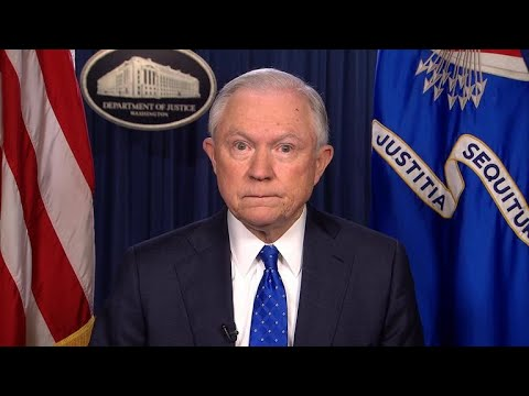 AG Sessions on Trump's Charlottesville response,