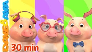 🙃 This Little Piggy - Colors & More Baby Songs   Dave and Ava 🙃