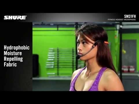Shure SM31FH Fitness Headset Condenser Microphone Product Video