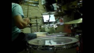 Jorge Rodríguez Superhero (Anthrax drum cover)