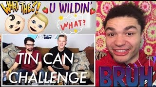 """SUPERFRUIT (WTF IS THAT?!?) """"Tin Can Challenge"""" REACTION !!"""