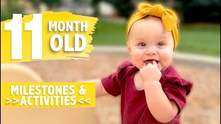 HOW TO PLAY WITH YOUR 11 MONTH OLD | DEVELOPMENTAL MILESTONES & ACTIVITIES | WHAT YOU NEED TO KNOW
