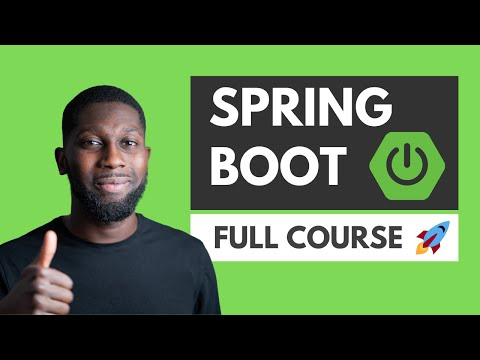 Spring Boot Tutorial | Full Course [2021] [NEW] - YouTube