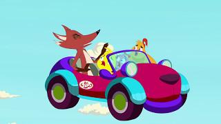 Eena Meena Deeka   Car Chase   Funny Cartoon Compilation   Cartoons for Children