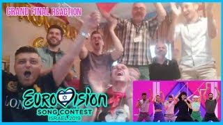 REACCIÓN A La ACTUACIÓN De ESPAÑA En La GRAND FINAL EUROVISION 2019 Spain Miki - La Venda