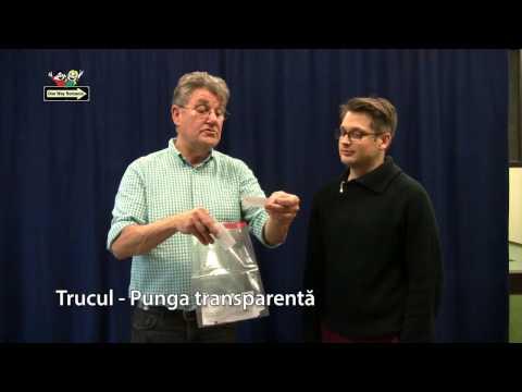 Truc vizual: Punga transparentă