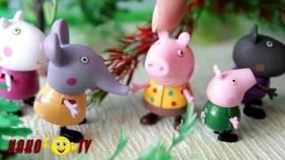 Маша и Медведь мультики с игрушками новые серии 2017 - Драка в лесу! Мультфильмы для детей #новинка