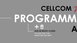 Cellcom Prime Programmer App Features