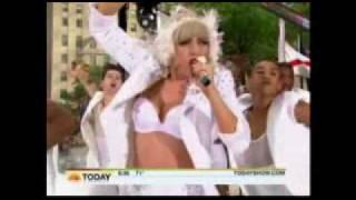 Miss Fan Partiya, Lady Gaga Bad Romance live @ Today Show 2010(pt1)