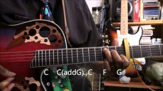 How To Play THE DUCK SONG On Guitar Lesson EricBlackmonHD YouTube Kids