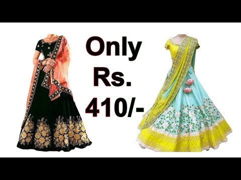 Budget Free Lehenga, Choli and Dupatta Set | Online Shopping