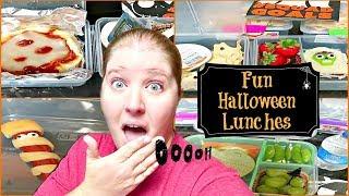Easy Halloween Themed School Lunch Ideas