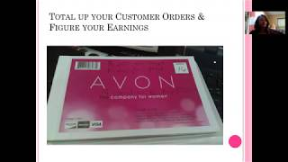 How do I get paid with Avon, order Avon catalogs, samples and more