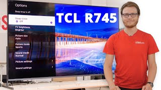 """Video: TCL 85"""" R745 TV Review (85R745) - XL Format for XL Results?"""