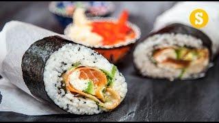 Sushi Burrito Recipe