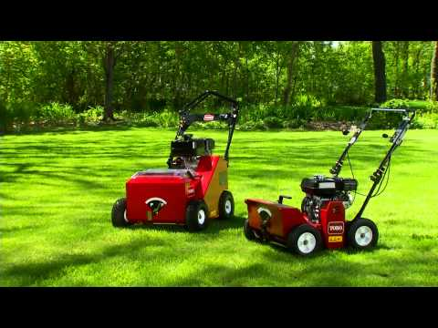 Toro Turf Renovation Line Overview