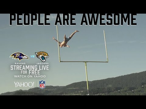People Are Awesome: Flip & Catch and Human Field Goals | Ravens vs. Jaguars Stream on Yahoo | Jukin