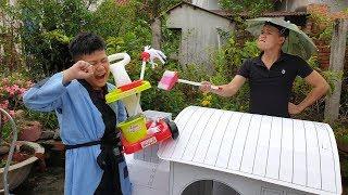Trò Chơi Bé Pin Fun House ❤ ChiChi ToysReview TV ❤ Đồ Chơi Trẻ Em Baby Doli Fun Song Bài Hát Vần Thơ