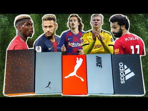 XXL Fußballschuh Unboxing - Pogba, Neymar, Griezmann, Haaland, Salah...