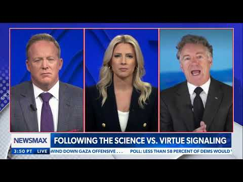 Dr. Paul Joins Sean Spicer on Newsmax – May 18, 2021