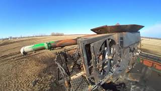 Fire Burnt Harvester Combine | Forck-In Quad FPV Cinematic Insta360 GO