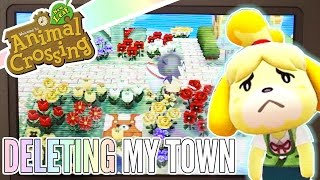 Isabelle  - (Animal Crossing) - Sorry, Isabelle ❖ Deleting My First Animal Crossing Town