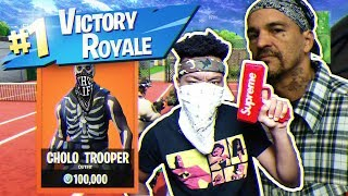Playing Fortnite WITH A CHOLO Member... WEIRDEST DUOS TEAM ON EARTH!
