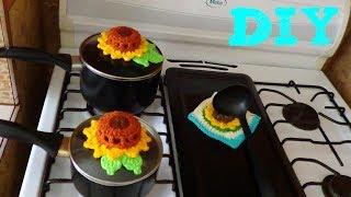 Set De Cocina Tejido A Crochet Paso A Paso Cubre Jabon Y Esponja